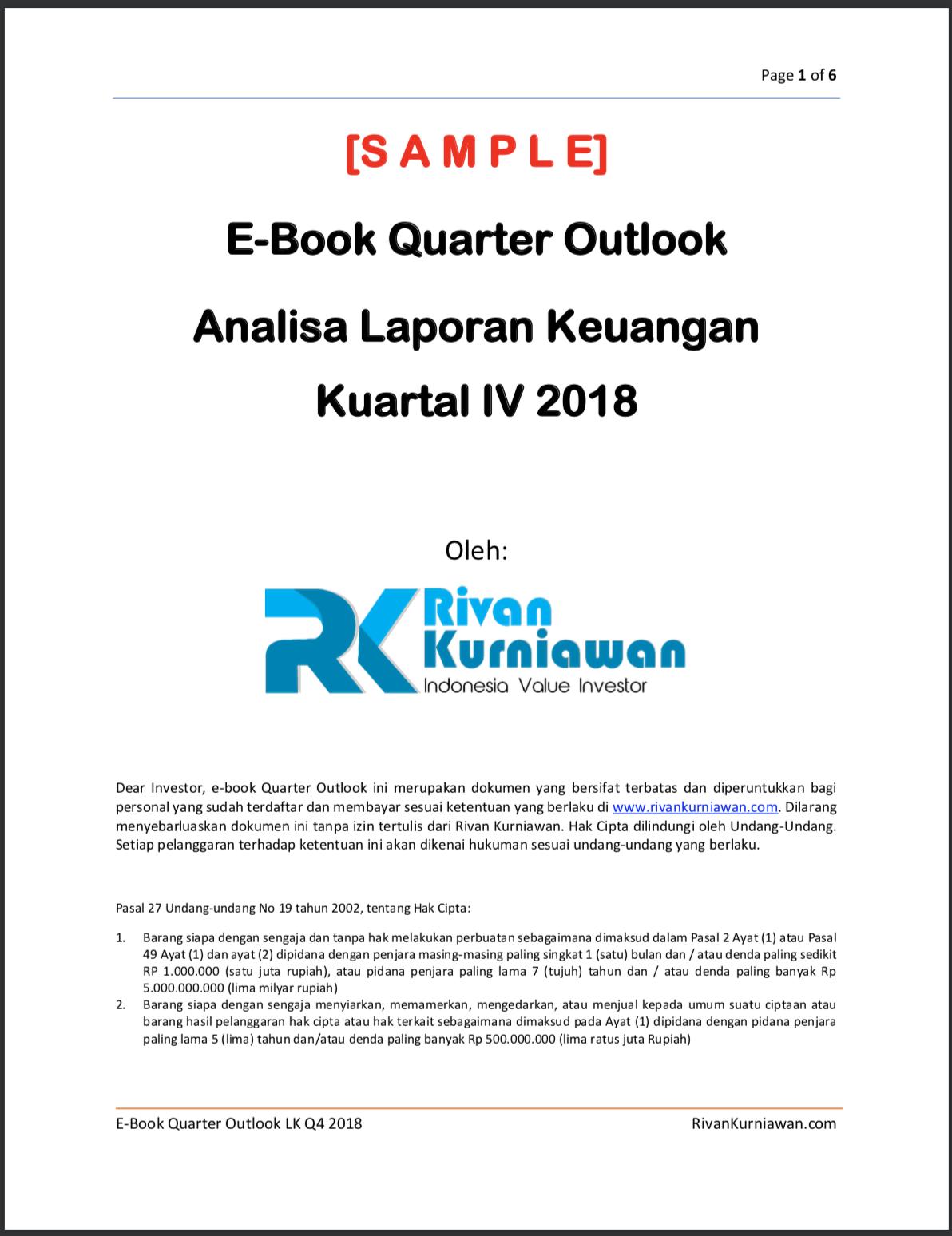 Rk Ebook Quarter Outlook